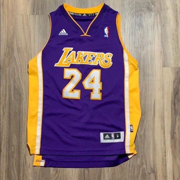 NBA Shirts & Tops | Youth Nba Kobe Bryant 24 Lakers Jersey | Poshmark